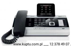 Gigaset DX800A, telefon ISDN, VoIP, DECT