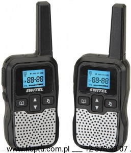SWITEL WTE 2320, walkie-talkie z zasięgiem do 5 km